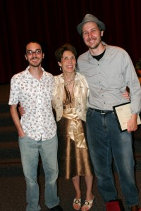 My son, Matt Silas, receives director's award for his short film, The Fence, based on a chapter from my novel, Hardpan